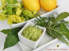 Sale aromatico al sedano e limone