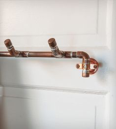 Industrial Copper Towel Rack | Home Bathroom | Nine & Twenty | Scoutmob Shoppe | Product Detail