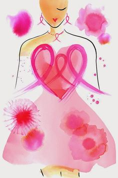 Ways to survive breast cancer - Modern Survival Living Breast Cancer Art, Breast Cancer Survivor, Breast Cancer Awareness, Farmasi Cosmetics, Cancer Tattoos, Pink October, Illustrations, Hand Lettering, Artsy