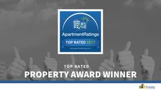We are pleased to announce that 40 of our communities have been recognized as 2017 Top Rated Properties committed to service by #ApartmentRatings!  Thank you to all our valued residents across the nation for their positive feedback. Congratulations to all the onsite teams for this prestigious distinction! #TopRated
