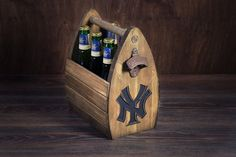 Personalized Sport Team Beer Carrier Football by GoodWoodGift