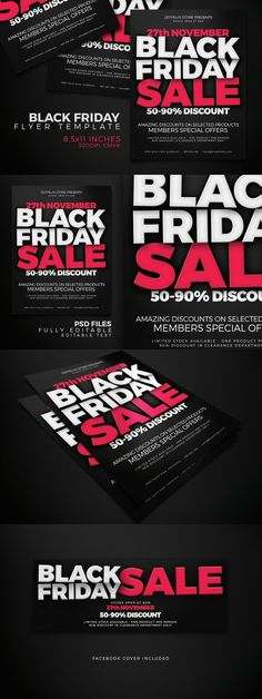 Black Friday Flyer Template Psd Design Download Http