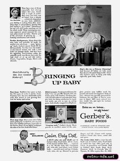 Retro-Ads.net | 1955 Gerber's Baby Food Ad