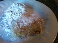 All of the beignet recipes I have found here on Zaar have yeast in them. This is a recipe we use ALL THE TIME in the south...with no yeast. (Yeast and I dont get along, that is why I bought a bread machine) Light and fluffy!! Just dust with Confectioners sugar and enjoy!
