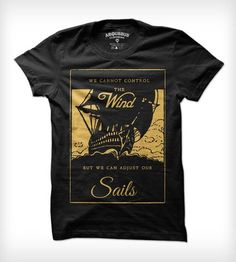 Adjusting Sails Tee - Mens by Arquebus Clothing on Scoutmob Shoppe