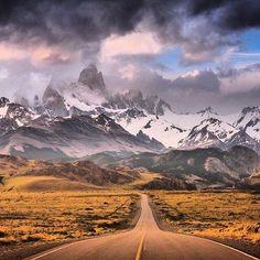 Mount Fitz Roy, Argentina #mountfitzroy #argentina #