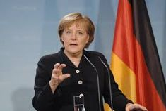 Angela Merkel is the current German Chancellor, and is the image of German politics since around 2005.