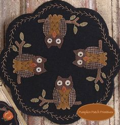 Folkart Penny Mats - August Pumpkin Patch Primitives