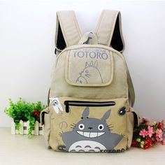 Anime Totoro Shoulder Backpack Cosplay School Bag Tonari no Totoro Rucksuck Gift