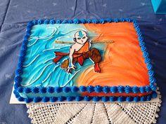 Avatar: the Last Airbender cake