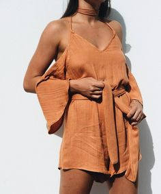 """4,129 Likes, 8 Comments - Thessy & Yiota (@saboskirt) on Instagram: """"Sophie Clay Playsuit 