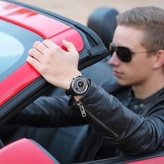 15 days to go: @dailywatch sporting the P-51-01 watch!  - Shop now for recwatches > http://ift.tt/1Ja6lvu