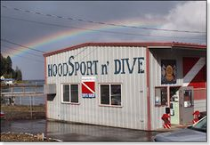 Great Dive shop on Hood Canal.