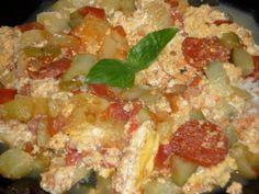 Lecsó tojással Hawaiian Pizza, Food, Essen, Yemek, Meals