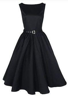 Rockabilly Swing Audrey Retro Dress