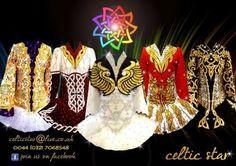 Celtic Star dresses