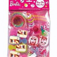 - Barbie Favor Pack Favor Set 42 Piece Barbie Includes an array of brightly colored Barbie favors. Please note: approx. Barbie Theme Party, Party Themes, Party Ideas, Candy Wedding Favors, Party Favors, Favours, Diva Birthday Parties, 4th Birthday, Birthday Ideas