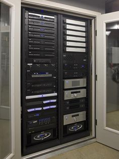 Rack mounted equipment in Media Rooms: Game On : Interior Remodeling : HGTV Remodels