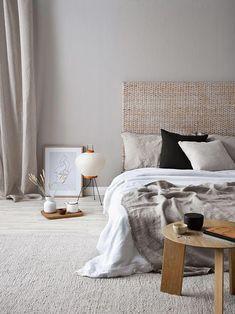 Master bedroom design 10 cozy master bedroom designs for rainy days cozy bedroom design ideas modern Cozy Bedroom, Home Decor Bedroom, Bedroom Ideas, Decoration Bedroom, Ikea Bedroom, Scandinavian Bedroom, Bedroom Inspiration, Scandinavian Style, Bedroom Wall