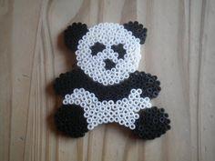 Panda hama perler by Creablog Valerie