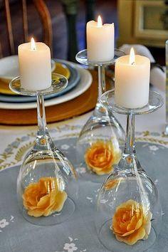 DIY Summer Wedding Centerpieces - Mon Cheri Bridals