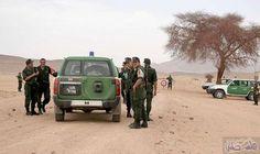 الجيش الجزائرى يعلن عن كشف مخبأ للأسلحة والذخيرة على الشريط الحدودى: الجيش الجزائرى يعلن عن كشف مخبأ للأسلحة والذخيرة على الشريط الحدودى