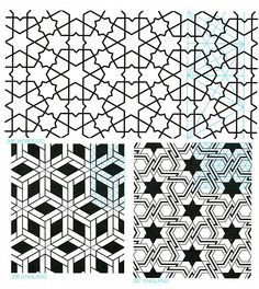 Geometric Patterns from islamic art GP-B 042