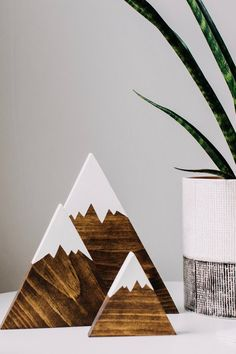 Wooden Mountains, Mountain Decor, Nursery Decor, Rustic Wedding Decoration, Baby Shower Gift … – The Best Ideas Rustic Nursery Decor, Wooden Decor, Rustic Decor, Baby Decor, Woodland Nursery, Rustic Signs, Rustic Wood, Mountain Decor, Mountain Nursery