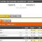PONTURI Australian Open – start pentru Nadal