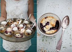 I'd totally do this because I love love love pie. Pie in a mason jar!