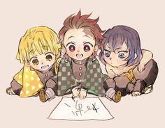 Zenitsu Form Kimetsu No Yaibu (Different expression) Anime Meme, Manga Anime, Anime Ai, Fanarts Anime, Kawaii Anime, Anime Characters, Anime Naruto, Demon Slayer, Slayer Anime