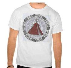 Camiseta Mandala Tipi Hombre