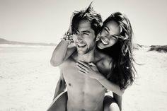 couple, cute, guy, girl, hug, summer, beach