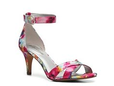 Kelly & Katie Chris Floral Dress Sandal. Dress shoes that would go with multiple dressy outfits. $39.99 too. DSW