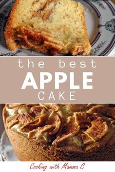 """This really is The Best Apple Cake! It's the most beloved dessert to ever come out of my kitchen. I'm calling this """"The Best Apple Cake,"""" but I could just as easily refer to it as """"the most beloved dessert to ever come out of my kitchen. Poke Cake Recipes, Homemade Cake Recipes, Frosting Recipes, Apple Recipes, Fall Recipes, Dessert Recipes, Desserts, Cake Recipe From Scratch Easy, Best Icing Recipe"""