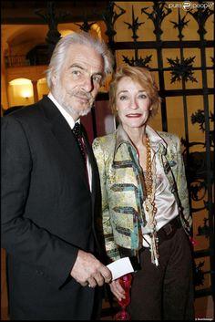 Thadée Klossowski de Rola et Loulou de la Falaise au musée des Arts Décoratifs à Paris en janvier 2007.