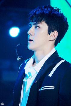Mature Faces, Sehun Cute, Celebrity List, Chinese Boy, Rainbow Hair, Chanyeol, Boy Bands, Boy Groups, Rapper