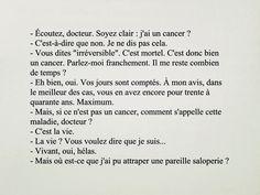 Pierre Desproges – Vivons heureux en attendant la mort.