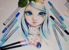 Celeste aka Lady Sapphire by Lighane