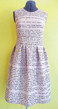 One of the few dresses I own, it's a Harry Potter. I want more in all my favorate books....