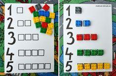 #legoduplo #lego #cisla #pocet #batole #numbers #toddleractivity #toddlerteaching Number Activities, Toddler Activities, Lego Duplo, Games, Numbers, School, Lego Duplo Table, Gaming, Schools