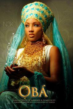 """OBA: Yoruba Orisha"" by International photographer James C. Lewis"