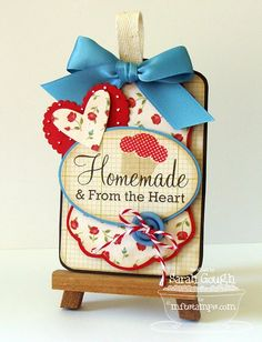 Homemade & From the Heart      Sooo Cute!