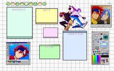 reki and langa laptop wallpaper