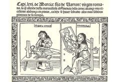 Libro Mujeres Ilustres-Boccaccio-Hurus-Incunabula & Ancient Books-facsimile book-Vicent García Editores-9 Marcia