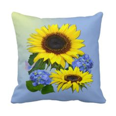 @@@Karri Best price          Sunflowers & Hydrangeas  ~ Pillow/Cushion           Sunflowers & Hydrangeas  ~ Pillow/Cushion This site is will advise you where to buyDeals          Sunflowers & Hydrangeas  ~ Pillow/Cushion today easy to Shops & Purchase Online - transferred directly sec...Cleck Hot Deals >>> http://www.zazzle.com/sunflowers_hydrangeas_pillow_cushion-189299111163368784?rf=238627982471231924&zbar=1&tc=terrest