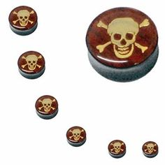 Ear Plugs 2G Acrylic Skull Logo Double Flare Acrylic Ear Gauges 2 Gauge (2 Pieces) BodyJ4You - Plugs. Save 84 Off!. $0.99. Check our other Listings for Deals on Taper Kit, Plugs Kits, Tunnels, Tapers and Plugs.. Highest Quality, UV Acrylic Plugs. Wood & Gold Color Inlay. You will receive 1 Pair of Plugs (2 pieces) of the size you select. Each set of 2 pieces will be 1 size. Please Choose Your Size.