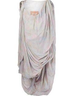 'Kyoto' draped dress