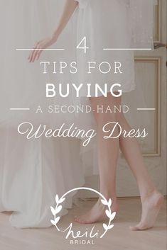 Buying a used wedding dress is very common but it comes with its own set of challenges. Learn the best tips for how to shop for a second hand wedding dress. Second Hand Wedding Dresses, Used Wedding Dresses, Perfect Wedding Dress, Bridesmaid Dresses, Wedding Dress Boutiques, Wedding Dress Shopping, Wedding Fair, Free Wedding, Budget Wedding