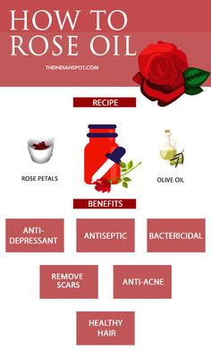 ROSE OIL BENEFITS, RECIPE AND WAYS TO USE